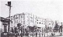 関東大震災直前の 岩倉鉄道学校の校舎 (大正3年3月完成)